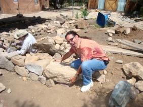 Building a wall Taos, NM
