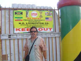 At Bunny Wailers fortified yard in Kingston, JA